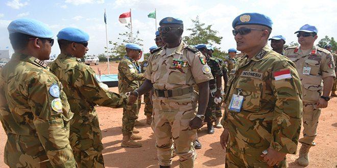 DFC UNAMID : Saya Bangga Lihat Pasukan Profesional dan Bermoril Tinggi