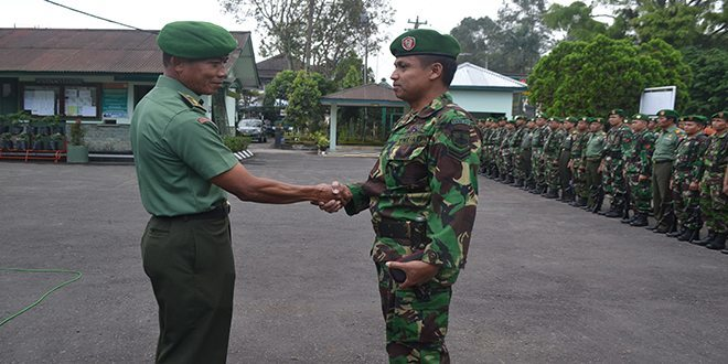 173 Jam Babinsa Kodim Wonosobo Terima Jam Dari Panglima TNI
