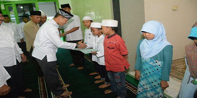 H.M Qosim sebagai Penceramah Safari Ramadhan Kodim 0817/Gresik