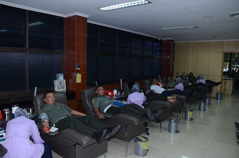 Pomdam V/Brawijaya Gelar Donor Darah peringati HUT Pomad 69