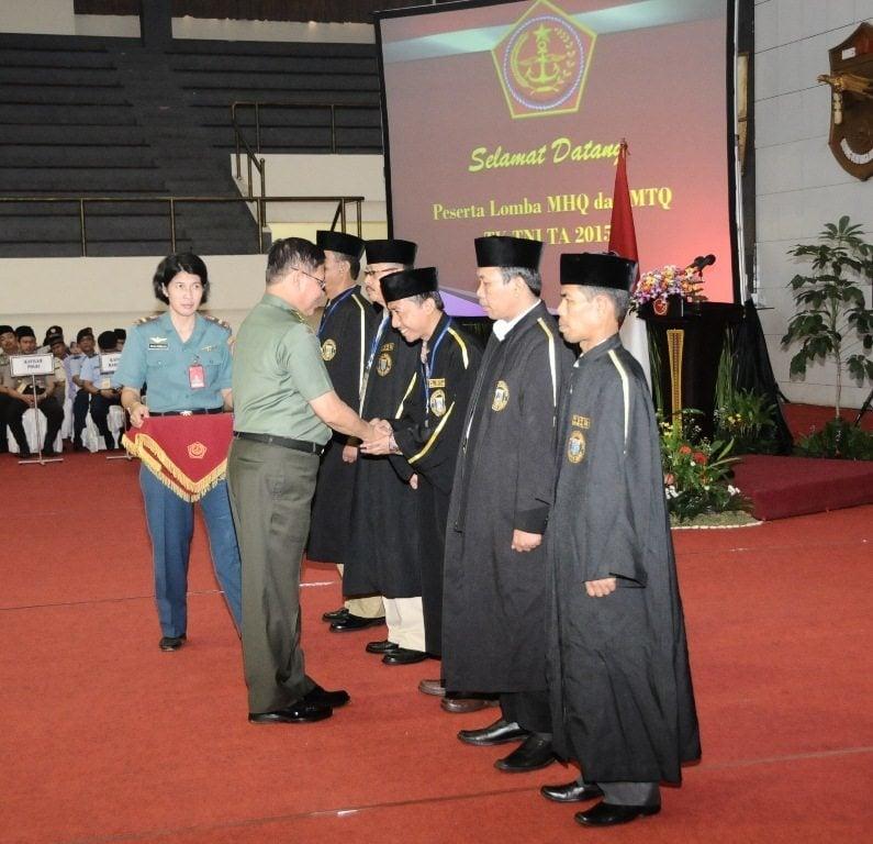 Mabes TNI selenggarakan MHQ dan MTQTNI 2015