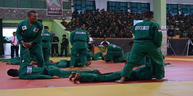 Divif 1 Kostrad Juara Umum Lomba Ton Tangkas TNI AD 2015