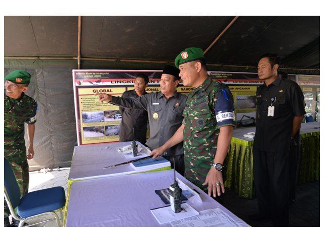 """Latposko-I Kodim Lamongan : """"Sinergitas peran TNI dengan Instansi lainnya dalam atasi Banjir Lamongan """""""