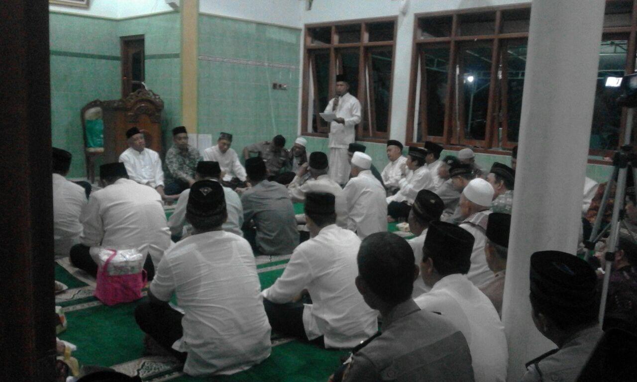 Danramil 05/Sleman Menghadiri Tarling Tingkat Kabupaten Di Masjid AL-Hidayah