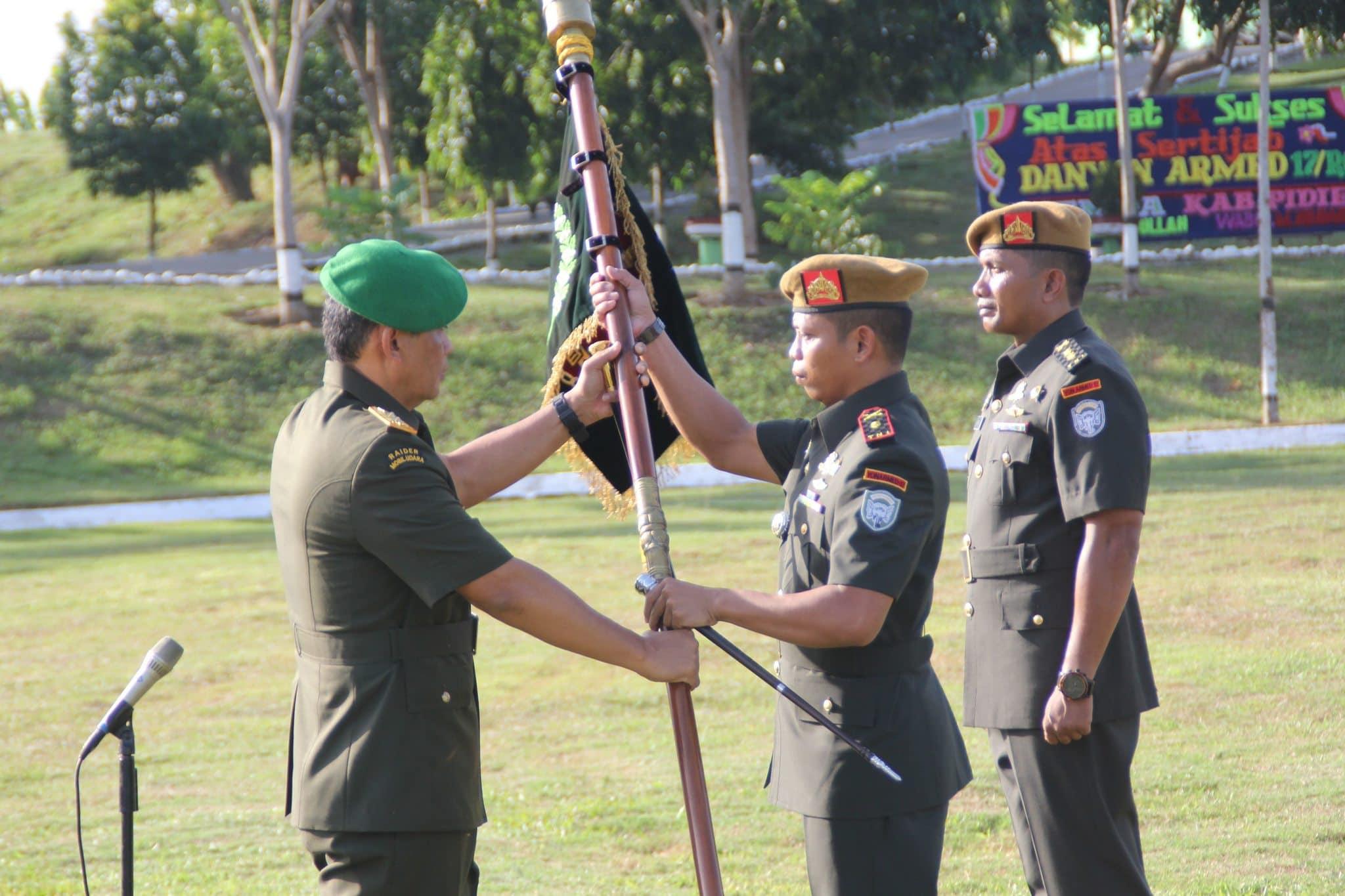 Budi Wahyono Danyon Armed 17/Rencong Cakti Kodam IM