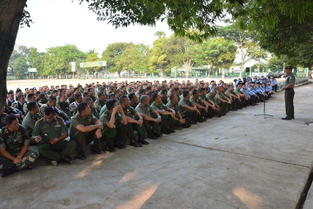Danrem 011/Lilawangsa Mengambil Jam Komandan Seluruh Prajurit dan PNS