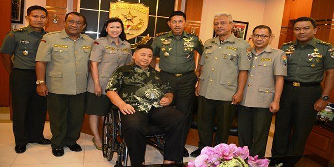 Kegiatan Audensi Pengurus FKPPI DKI Dengan Pangdam Jaya