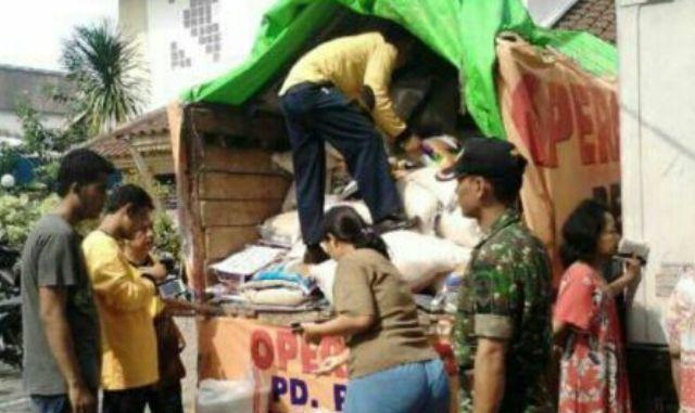 Koramil 07/Kemayoran Laksanakan Operasi Pasar