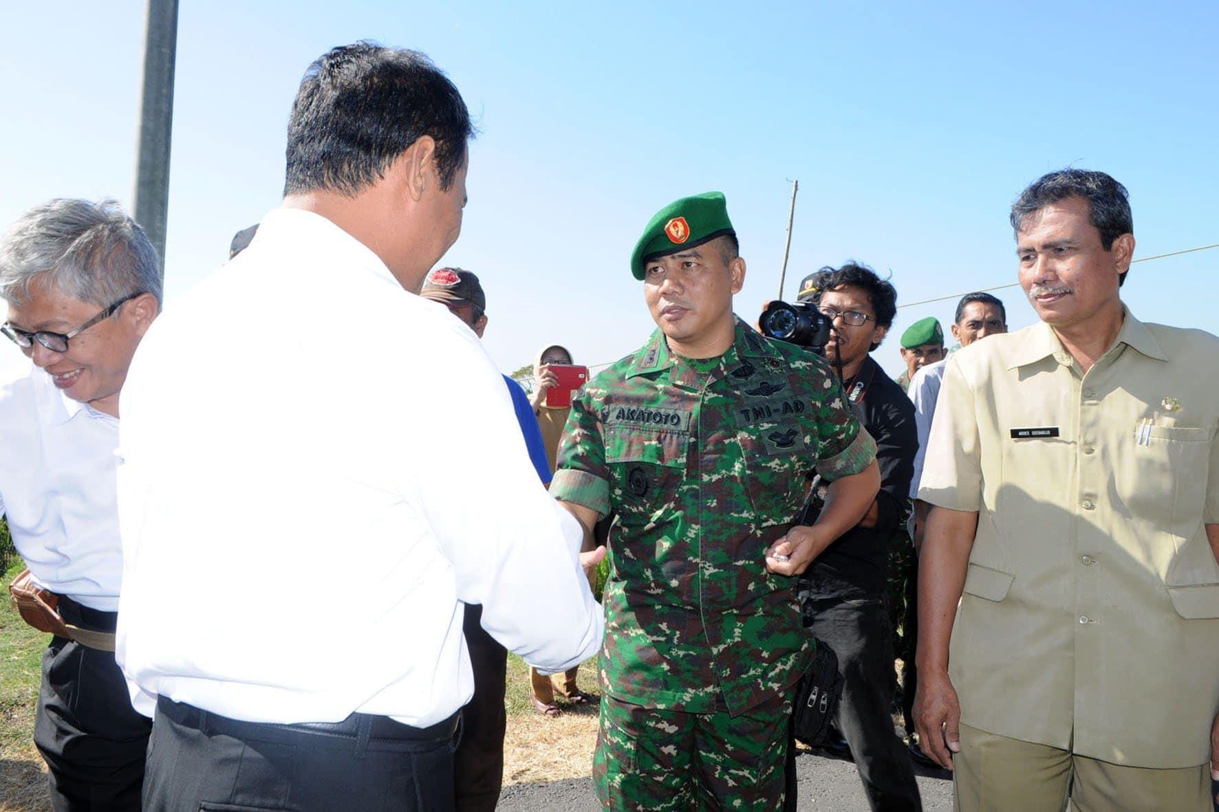 Kunjungan Menteri Pertanian di Kab. Nganjuk (1)