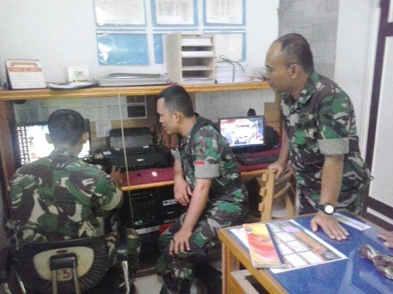 Denhubrem 172/PWY Laksanakan Latihan Komunikasi