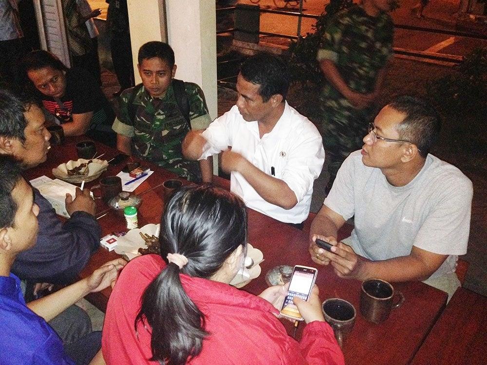 Mentan Ri – Kapendam V/Brawijaya Ngopi Bareng Wartawan
