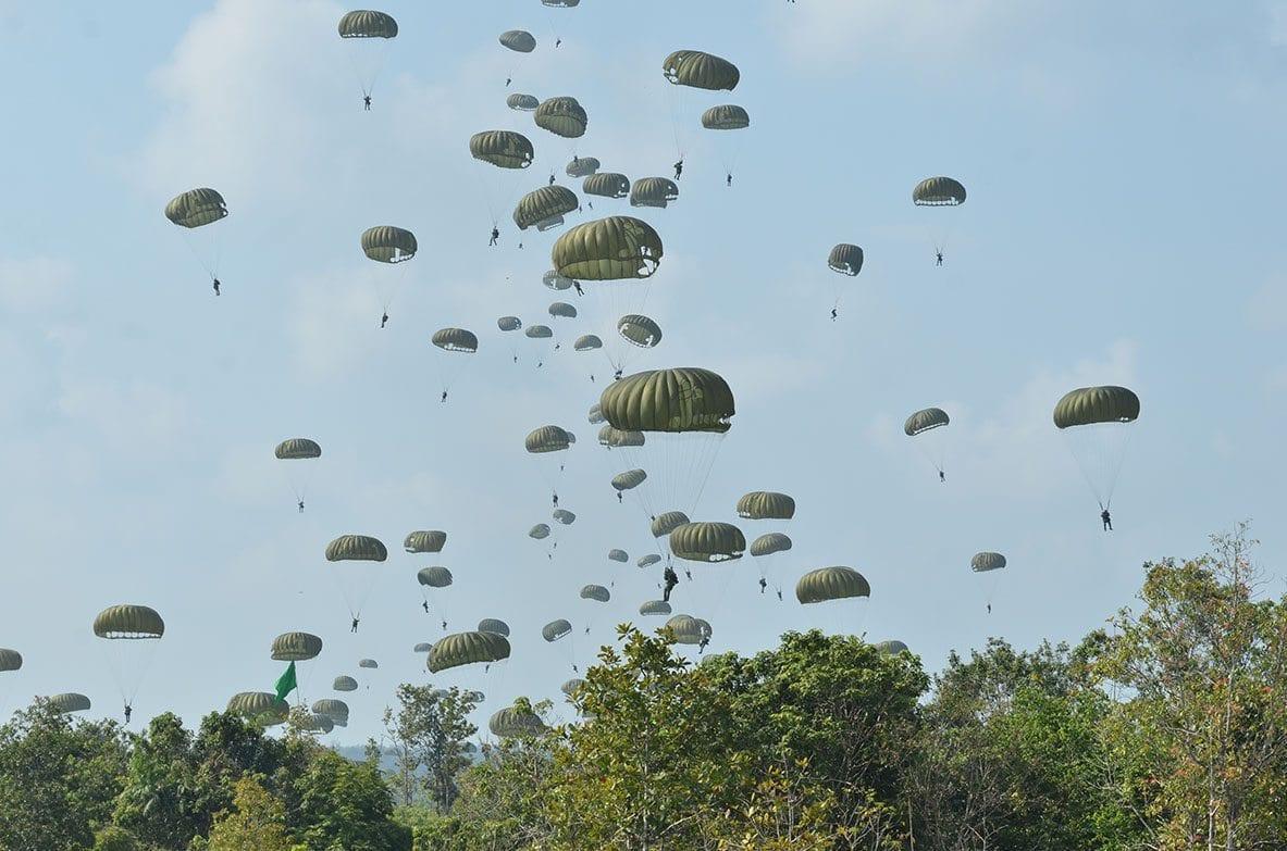 Demo Latihan Pertempuran Latancab 2015