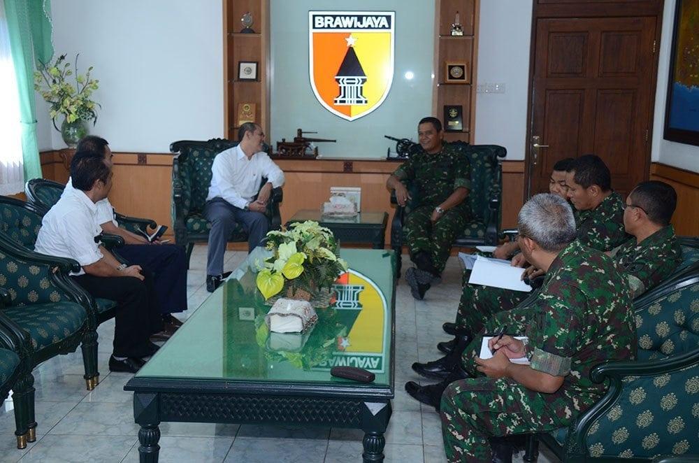 Pangdam V/Brawijaya Terima Audiensi PT PLN Distribusi Jawa Timur