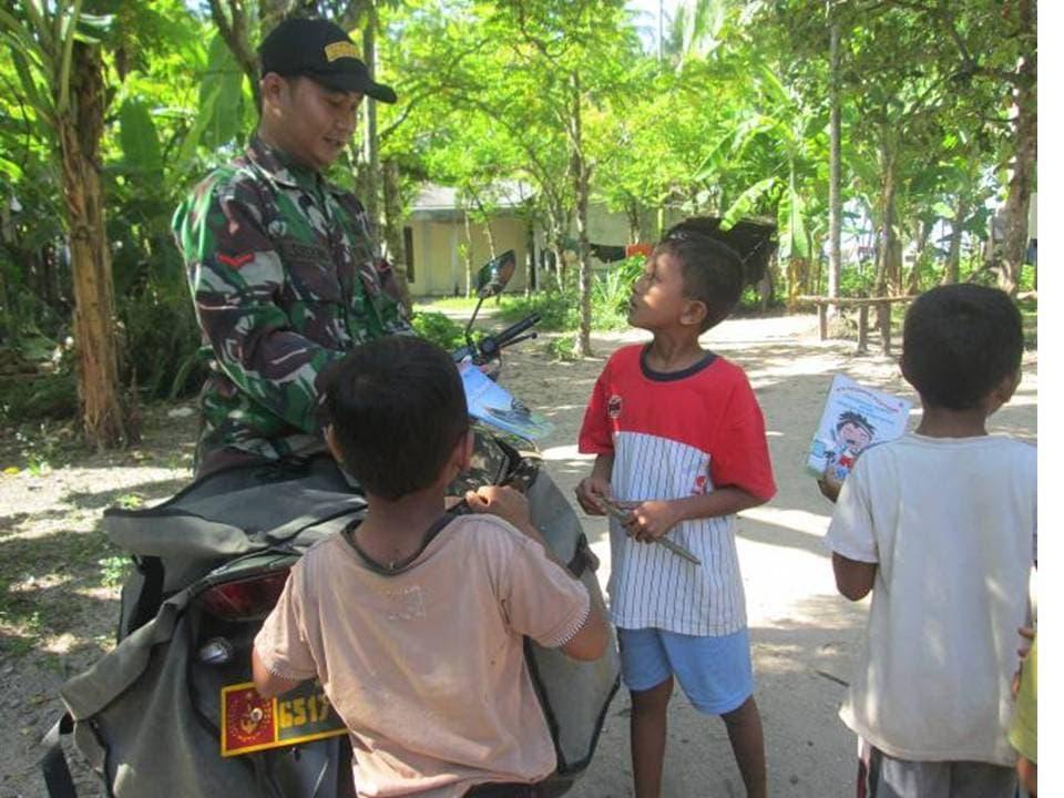 Kegiatan Pelaksanaan Motor Pintar Wilayah Kodim 0107/Aceh Selatan