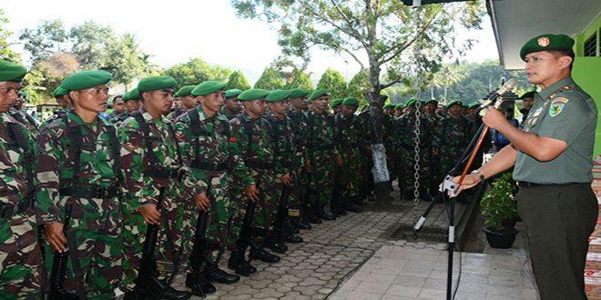 Danrem 172/PWY Minta Prajurit Tingkatkan Disiplin
