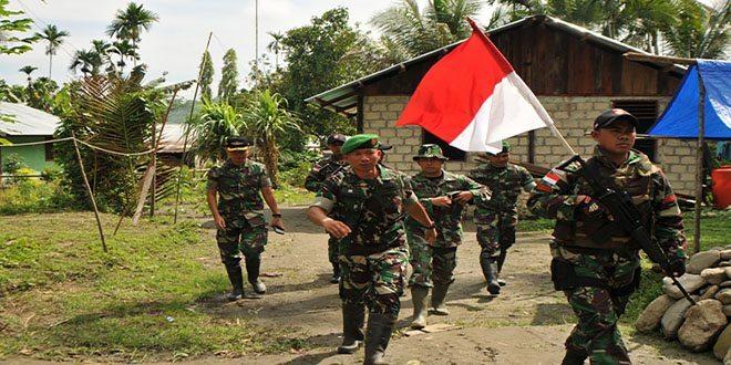 Kunjungan Kerja Tim Kemhan ke Pos Perbatasan RI-PNG Kab. Keerom