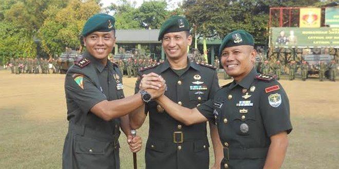 Danbrigif 1 PIK/JS Pimpin Serah Terima Jabatan Komandan Batalyon Infanteri Mekanis 201/ Jaya Yudha