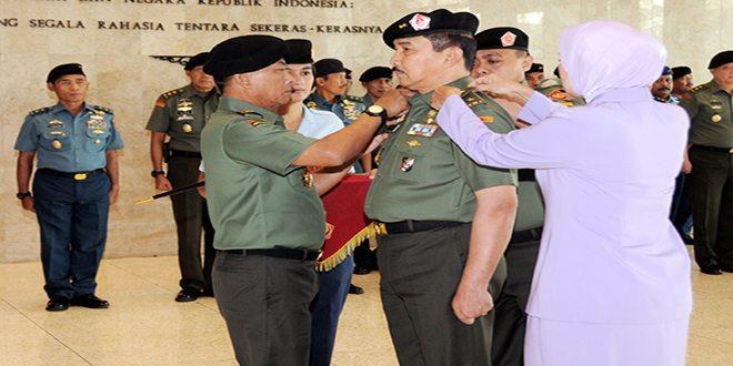 18 Perwira Tinggi TNI Naik Pangkat