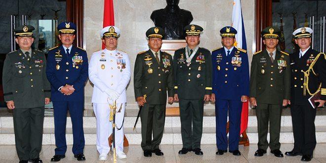 Panglima TNI Terima Pangab Filipina