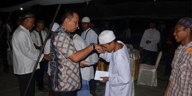 Danrem 151/Binaiya Safari Ramadhan Di Yonif 731/Kabaresi