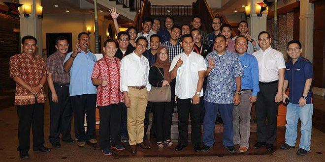 Safari Ramadhan, Kadispenad Buka Puasa Bersama dengan Pemred Media Massa Jajaran Emtek Group