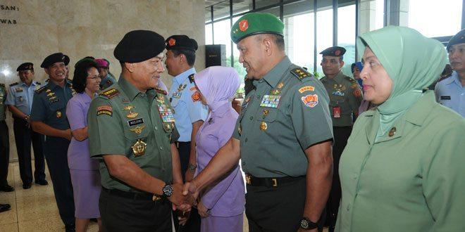 31 Perwira Tinggi TNI Naik Pangkat