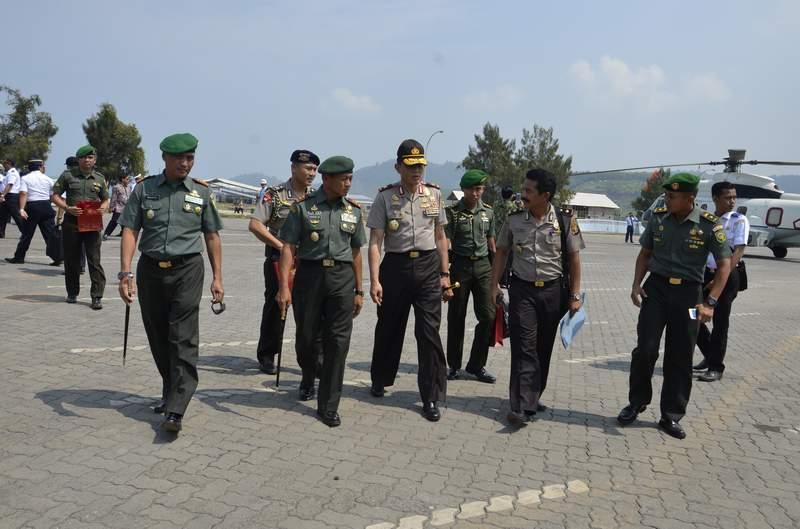 Korem 043/Gatam Laksanakan Pengamanan VVIP