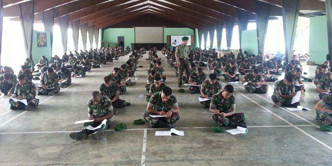Persiapan Pembentukan Raider, Prajurit Yonif 752/Vys Laksanakan Tes Kesehatan Jiwa