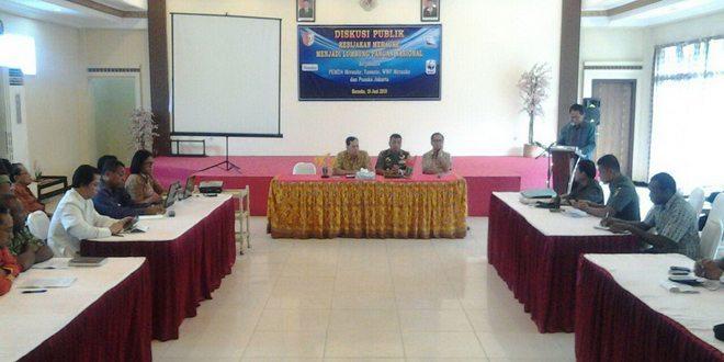 Korem 174/ Merauke Gelar Diskusi Publik Kebijakan Merauke Menjadi Lumbung Pangan Nasional