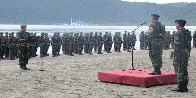 Rindam XVII/Cenderawasih Tutup Latihan Yudha Wastu Pramuka Siswa Dikmaba dan Dikmata TNI AD