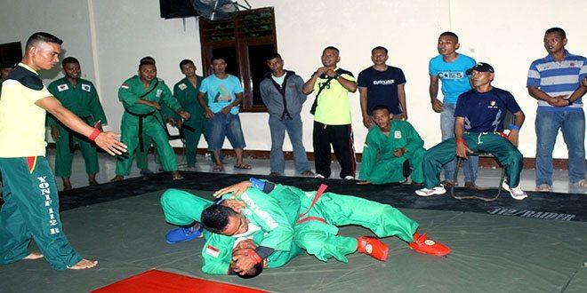 Fighter Yong Moodo Antar Kompi Menyambut HUT Yonif 112/Raider