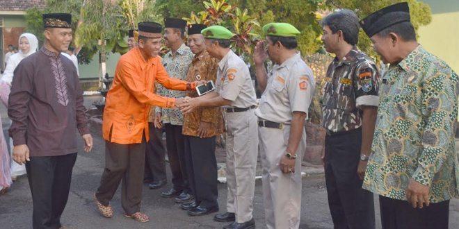 Safari Ramadhan Danrem 081/DSJ di Kodim Trenggalek