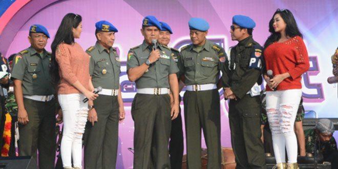 Polisi Militer Angkatan Darat harus selalu Berani, Jujur dan Ikhlas