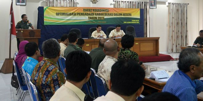 Rapat Koordinasi Optimalisasi Pengadaan Gabah/Beras Dalam Negeri 2015