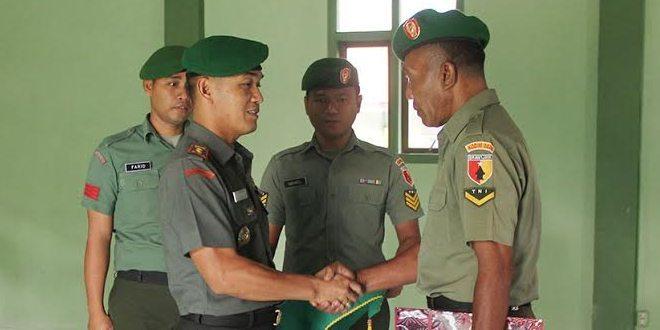 Dandim 0826 Terima Korps Raport Purna Tugas Anggotanya
