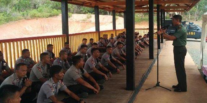 Danyonif 752/VYS bersilaturahmi ke Detasemen C Brimob Kota Sorong