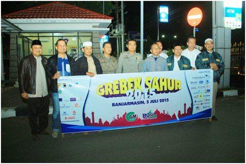 Dandim 1006/Mtp Grebek Sahur Bersama Unsur Fkpd Kota Banjarbaru