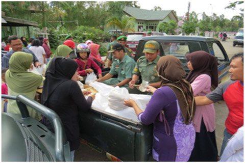 Operasi Pasar Murah Kodim 0904/Tng