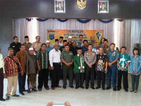 Pertemuan Antar Umat Beragama Se-Kabupaten Kotabaru