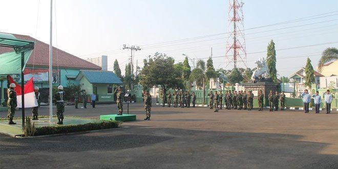 Kodim 0713/Brebes Laksanakan Upacara Bendera