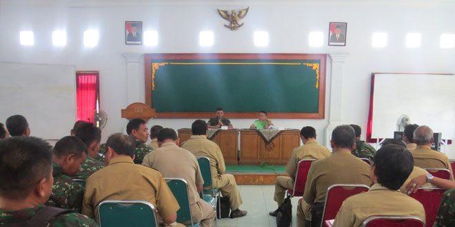 Rapat Upsus Penanganan Kekeringan Wilayah Brebes