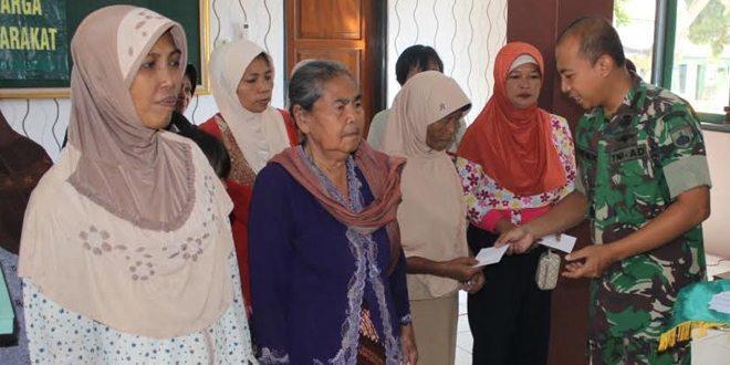 Pendistribusian Zakat Kodim 0736/Batang