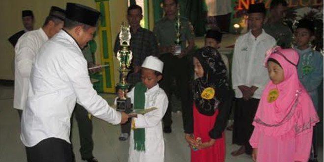 Lomba Adzan dan Da'i Cilik, Semarakkan Kebesaran Bulan Suci Ramadhan di Kodim 0814/Jombang