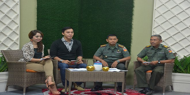 TNI Dididik Untuk Mengatasi Kondisi Darurat