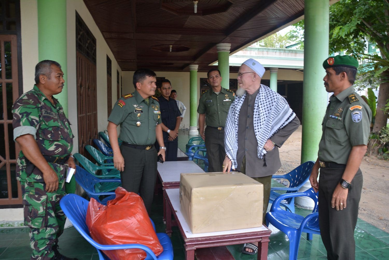 Danrem 011/Lilawangsa Sambangi Ulama Aceh Utara