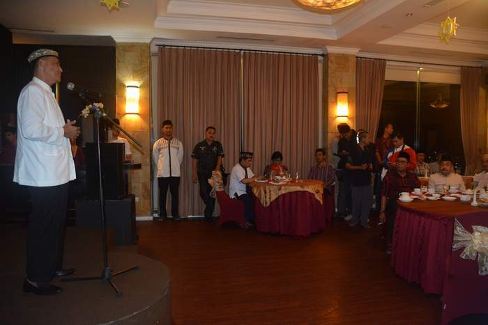 Komandan Korem 043/Gatam Silaturahmi Dengan Pimpinan Redaksi Dan Wartawan Se-Provinsi Lampung.