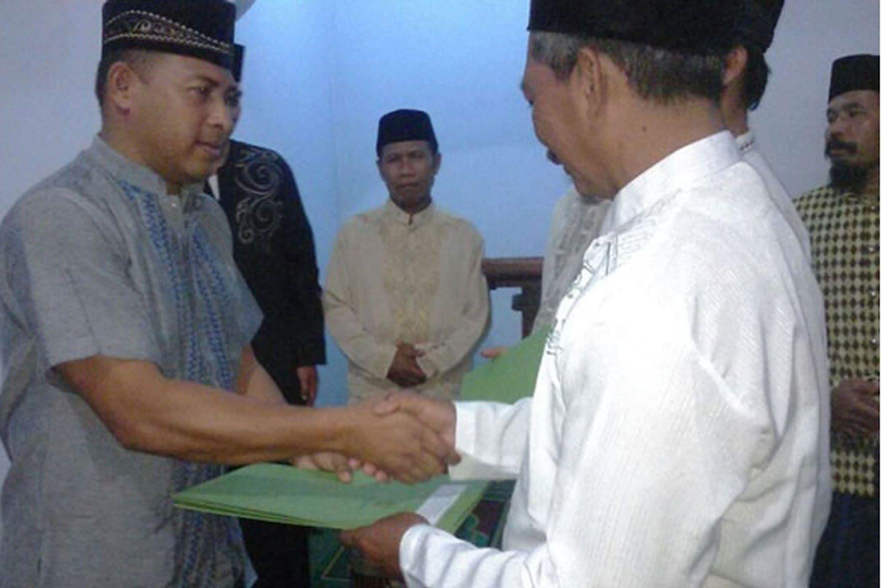 Dandim 0804 buka Puasa bersama di Masjid Al- Mukhlisin Kec. Kawedanan