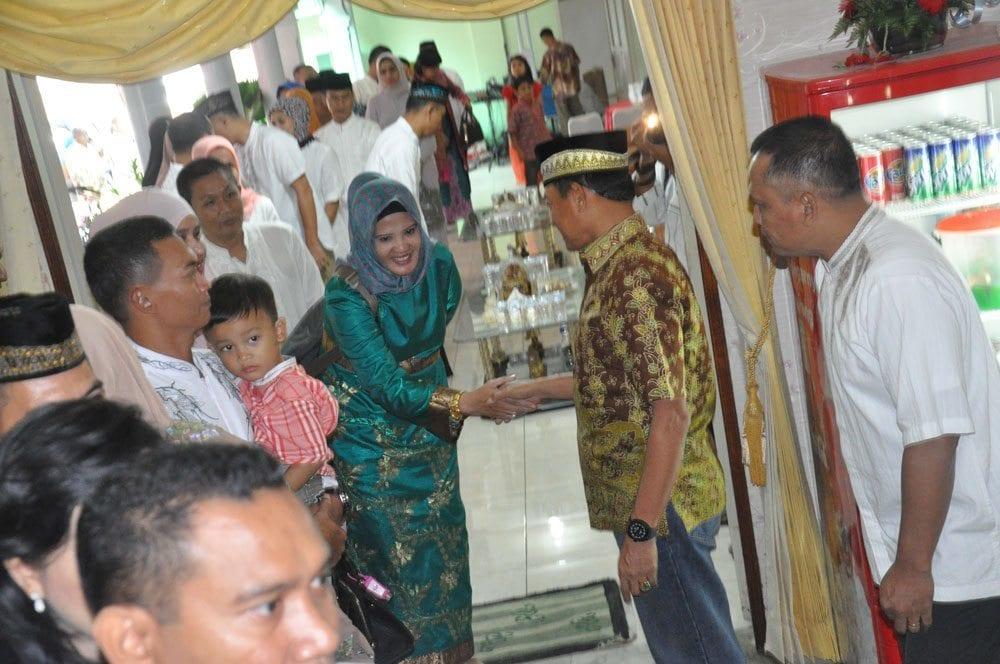 Danrem 044/GAPO Halal Bihalal ke Pangdam II/SWJ