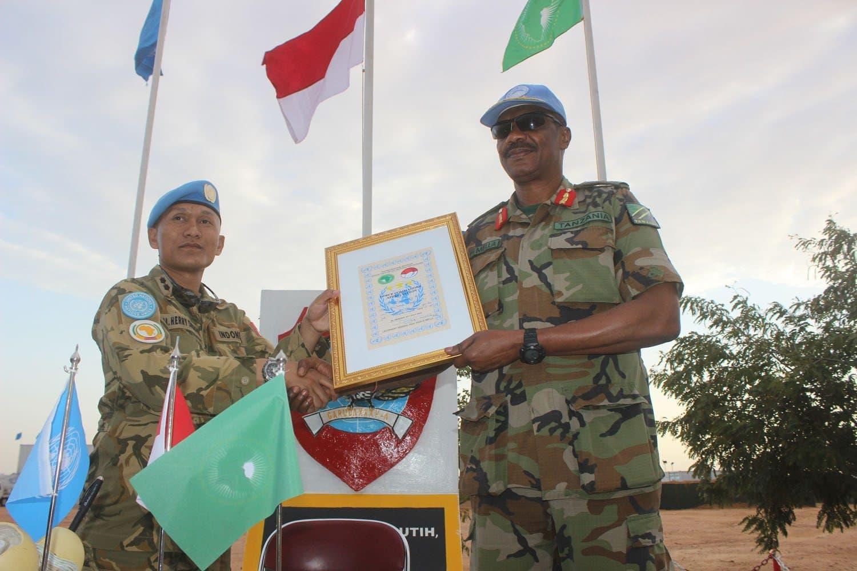 Prajurit Garuda di Darfur Terima Kunjungan Force Commander Unamid