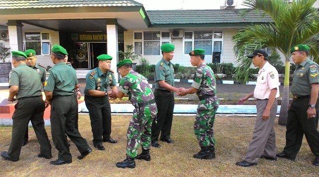 Kodim 0501 Jakarta Pusat Melaksanakan Halal Bihalal